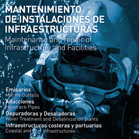 Mantenimiento de Instalaciones de infraestructuras