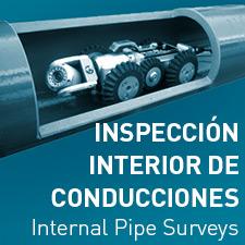 Inspección interior de conducciones