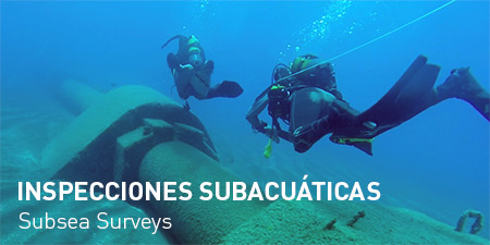 Inspecciones subacuáticas Acostasub