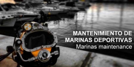Mantenimiento de Marinas deportivas
