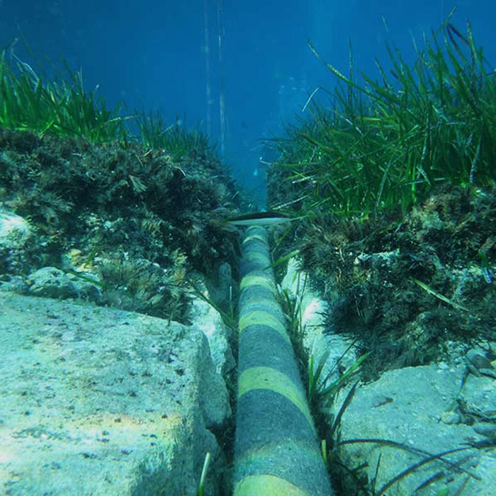 Subsea and industrial diving services Canary Islands